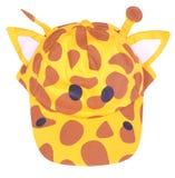Giraffeschutzkappe Stockfotografie