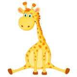 Giraffvektor Fotografering för Bildbyråer