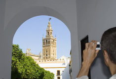 Giralda. La Giralda,Sevilla, Spain stock photography