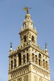 Giralda Bell-tower and Almohade section of historic Cathedral of Sevilla, Andalucia, Southern Spain Royalty Free Stock Photo