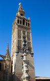 Giralda - Bell Tower of the Cathedral Royalty Free Stock Photography
