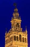 Giralda bell tower, Seville, Spain. Stock Photos