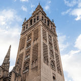 Giralda Bell Tower Stock Images