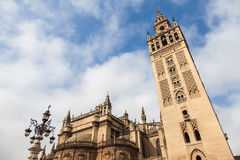 Giralda Bell Tower Stock Photos