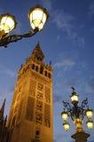 giralda los angeles Seville Spain Zdjęcie Stock