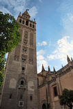 Giralda of Sevilla royalty free stock photos