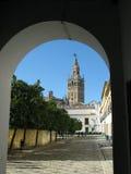 Giralda, Sevilla Stockbild