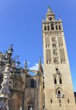Giralda in Sevilla, Spain Stock Photos