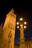 The Giralda in Seville. Spain Royalty Free Stock Images