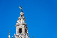 The Giralda in Seville, Andalusia, Spain. Royalty Free Stock Image