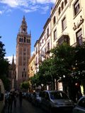 The Giralda in Seville Royalty Free Stock Photography