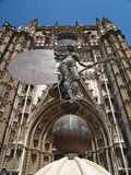 The Giralda, Seville Cathedral, Spain Stock Images
