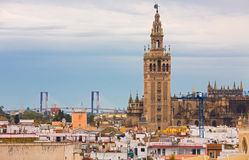 Giralda of Seville Stock Photos
