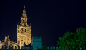Giralda of Seville Royalty Free Stock Photos