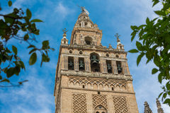 Giralda of Seville Royalty Free Stock Photo