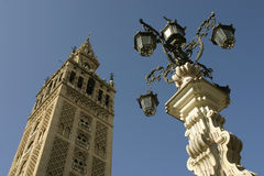 The Giralda in Seville. Spain Royalty Free Stock Photos