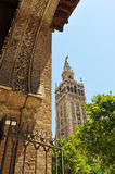 Giralda Tower, Cathedral of Seville, Andalusia, Spain Royalty Free Stock Image