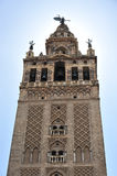 Giralda Tower, Cathedral of Seville, Andalusia, Spain Stock Photo