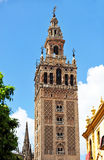 The Giralda Tower, Cathedral of Seville, Andalusia, Spain Royalty Free Stock Photo