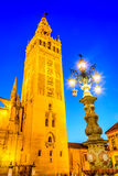 Giralda tower in Sevilla, Andalusia, Spain Royalty Free Stock Photography