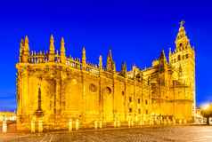 Giralda tower in Sevilla, Andalusia, Spain Royalty Free Stock Images