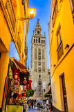 Giralda tower,Seville, Andalusia, Spain Royalty Free Stock Photography