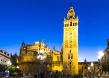 Giralda tower,Seville, Andalusia, Spain Stock Photo