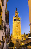 Giralda tower,Seville, Andalusia, Spain Stock Images