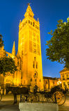 Giralda tower,Seville, Andalusia, Spain Stock Image