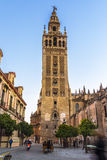 Giralda tower,Seville, Andalusia, Spain stock photography