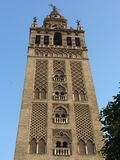 Tower of the Giralda royalty free stock photography