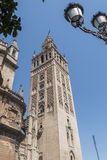 Giralda Tower, Seville Cathedral, Sapin Stock Images