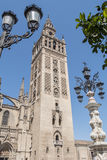 Giralda Tower, Seville Cathedral, Sapin Stock Image