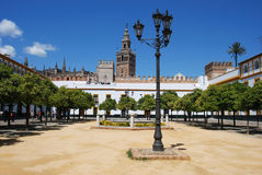Giralda Tower, Seville. Stock Image