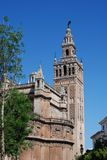 Giralda Tower, Seville, Spain. Royalty Free Stock Images