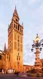 Giralda tower Seville Royalty Free Stock Photography