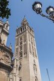 Giralda-Turm, Sevilla-Kathedrale, Sapin Stockbilder