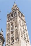 Giralda-Turm, Sevilla-Kathedrale, Sapin Lizenzfreie Stockfotos