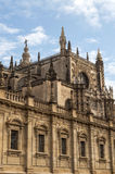 Giralda in vertical Royalty Free Stock Images