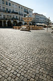 Giraldo Square - Evora - le Portugal photo stock