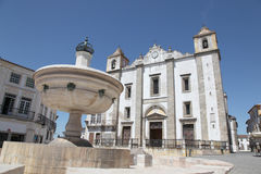 Giraldo Square Evora Portugal Royalty Free Stock Photo
