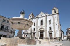 Giraldo Square Evora Portugal Royalty Free Stock Photo