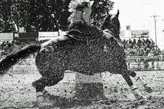 Girando il barilotto alla velocità Fotografia Stock Libera da Diritti