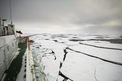 Girando nell'oceano congelato Immagine Stock Libera da Diritti