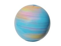 Girar globo-projeta o trajeto do elemento-grampeamento fotografia de stock royalty free