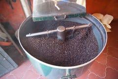 Girarrosto di Cofee Fotografia Stock Libera da Diritti