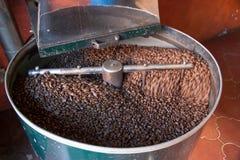 Girarrosto di Cofee Fotografia Stock