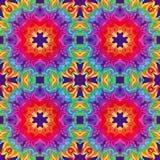 Girasol o mandala colorido del vector Fotos de archivo