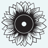 Girasole dell'illustrazione Fotografia Stock