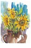 Girasoles, no.2 Imagen de archivo
